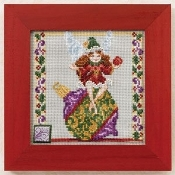 Mill Hill Christmas Ornament Fairy beaded counted cross stitch kit