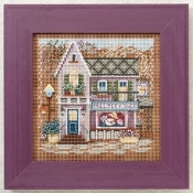 Mill Hill Spring Series Millenery Shoppe beaded counted cross stitch kit