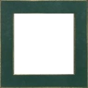 Mill Hill hand painted wood Frame GBFRM3 Matte Green