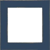 Mill Hill hand painted wood frame - GBFRM2 Matte Blue