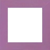 Mill Hill Frame GBFRM6 Matte Purple Iris, wooden