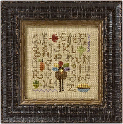 Lizzie Kate Sampling Thanksgiving counted cross stitch pattern chart