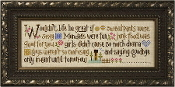 Lizzie Kate Wouldn't Life Be Great counted cross stitch pattern chart