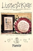 Lizzie Kate Family counted cross stitch patterns