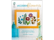 Modern Flowers - Counted Cross Stitch Book