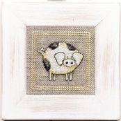 Lanarte Little Pig counted cross stitch kit