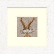 Lanarte - Funny Rabbit Counted Cross Stitch Kit