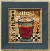 Mill Hill Autumn Series - Latte - beaded counted cross stitch kit