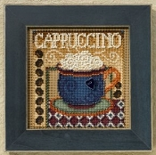 Mill Hill Autumn Series Cappuccino beaded counted cross stitch kit