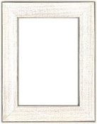 "Mill Hill Frame GBFRM17 - 5"" x 7"" Antique White"