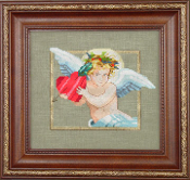 Mirabilia Designs - 2010 Holiday Cherub Free Cross Stitch Chart