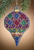 Mill Hill Diamond Holiday Christmas ornament counted cross stitch kit
