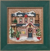 Mill Hill Barber Shoppe counted cross stitch kit