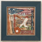 Mill Hill Spring Series, Home Run - Beaded Cross Stitch Kit