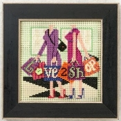 Mill Hill Love 2 Shop beaded counted cross stitch kit