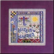 Mill Hill Buttoned and Beaded - Buzzin Buddies Cross Stitch Kit