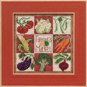 Mill Hill Farmers Market beaded counted cross stitch kits