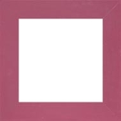 "Mill Hill Wooden Frame GBFRM7 - Matte Plum Hand painted 6"" x 6"""