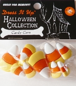 Dress It Up Craft Buttons Halloween Collection, Candy Corn - scrapbooking, crafts, sewing