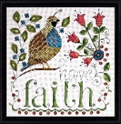 Design Works - Have Faith, Beaded Counted Cross Stitch Kit