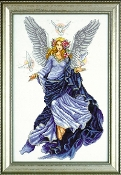 Design Works Crafts Counted Cross Stitch Picture kit - Celestial Angel