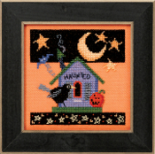 Mill Hill Counted Cross Stitch kit - Haunted Crow, Debbie Mumm