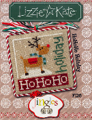 Lizzie Kate Jingle Flip-It HoHoHo Holiday Christmas counted cross stitch pattern