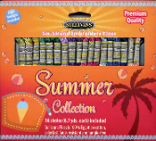 Sullivans embroidery floss pack, Summer Collection 36 skeins