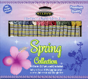 Sullivans embroidery floss pack - Spring Collection 36 skeins