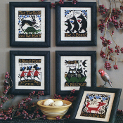 The Prairie Schooler Fables Tales counted cross stitch patterns
