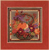 Mill Hill Autumn Series, Autumn Basket counted cross stitch kit