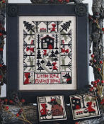 The Prairie Schooler, Little Red Riding Hood Cross Stitch Charts