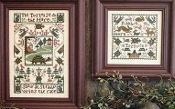 The Prairie Schooler, Tortoise & The Hare Cross Stitch Charts