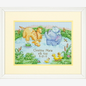 Dimensions Counted cross stitch picture kit - Little Pond Birth Record