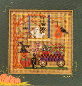 Mill Hill Autumn Series VII - Spooky Garden MHCB154A Halloween beaded counted cross stitch kit