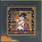 Mill Hill Autumn Series IX - Spooky Time MHCB184 Halloween beaded counted cross stitch kit