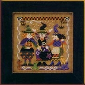 Mill Hill Autumn Series - Cookin Up Magic MHCB163 Halloween beaded counted cross stitch kit