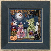 Mill Hill Autumn Series - Halloween Night MH14-9206 beaded counted cross stitch kit