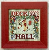 Mill Hill Buttons and Beads Winter series Deck the Hall Christmas beaded counted cross stitch kit