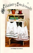 Blueberry Backroads - Christmas Tea Towels - Hand embroidery patterns