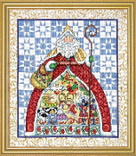Design Works Crafts Jim Shore Twelve Days Christmas counted cross stitch picture kit