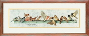 Lanarte Marjolein Bastin collection - The Pecking Order counted cross stitch kit