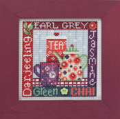 Mill Hill Spring Series - Tea Time - beaded counted cross stitch kit