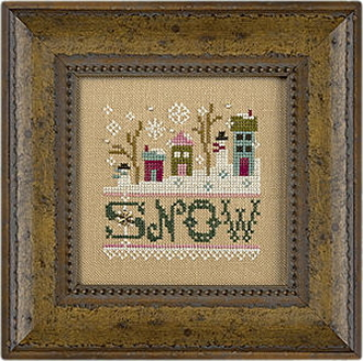 Lizzie Kate - a little Snow counted cross stitch kit
