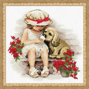 Riolis Sweet Tooth counted cross stitch picture kits