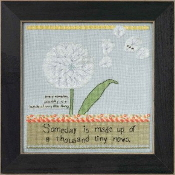 Mill Hill Curly Girl Design - Dandelion inspirational beaded counted cross stitch kit