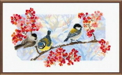 Riolis - Winter Day - counted cross stitch picture kit