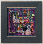 Mill Hill Autumn Series Wanda's Witchery - Halloween beaded counted cross stitch kit