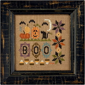 Lizzie Kate - a little boo counted cross stitch kit