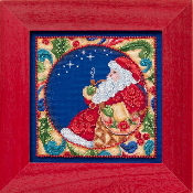 Jim Shore by Mill Hill - Santa JS30-4102 Christmas beaded counted cross stitch kit